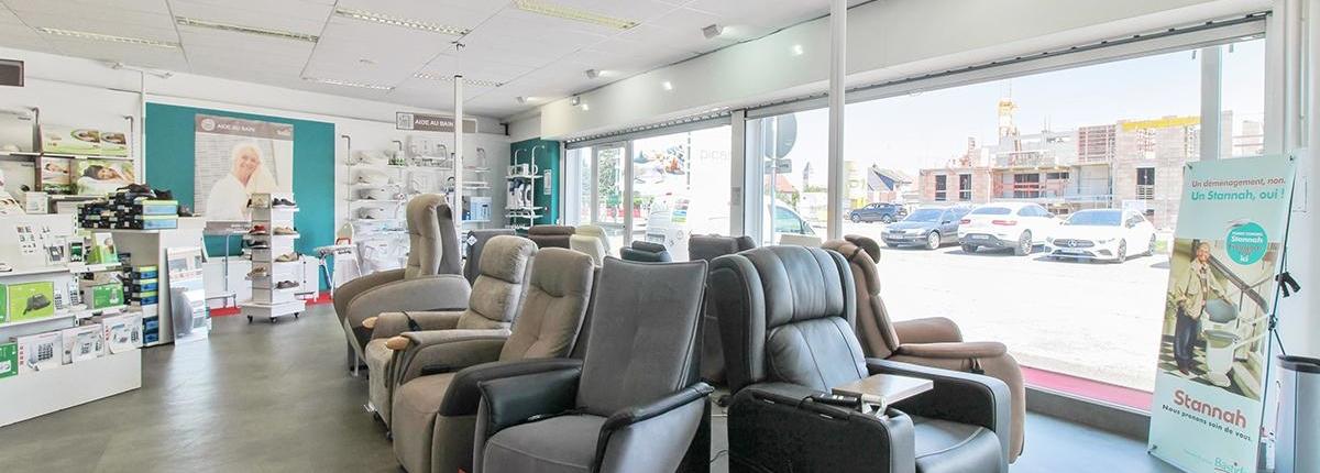Une large gamme de fauteuils releveurs à Mulhouse
